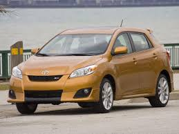Toyota Matrix technical specifications and fuel economy