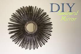 Diy Mirror Projects Diy Sunburst Mirror Tutorial A Little Abandon