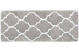 lonior bathroom mats extra long bath mat non slip large bath rug in large bath rugs