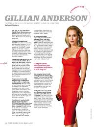 x files fan club gillian anderson in various magazines 9 time magazine article from dec 28 new york magazine interview dec 28 vogue uk jan 2016 and harper s bazaar uk jan 2016