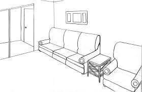 ... Large Size of Living Room:drawing Of Living Room Point Perspective  Interior Design Excellent Picture ...