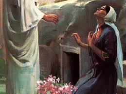 Image result for picture of Mary and Jesus after resurrection