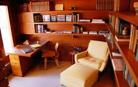 furniture study room. study room designed by fl wright furniture