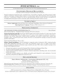 It Manager Resume Sample It Manager Resume Sample Program Manager ...