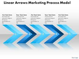 Sales Ppt Template Business Powerpoint Templates Linear Arrows Marketing