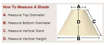 How to measure lamp shade Dimensions How To Measure Lamp Shade About Remodel Creative Home Decorating Ideas C21 With How To Measure Office Chairs Garage Doors Coffee Table And Other Home Furniture How To Measure Lamp Shade Home Furniture