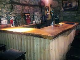 diy rustic bar.  Rustic Wonderful Rustic Bar Top Best Remarkable Outdoor Ideas  With Classic   For Diy Rustic Bar