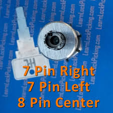 Picking Vending Machine Locks Beauteous Tubular Lock Pick 448Pin Left 448Pin Right And 48Pin Center