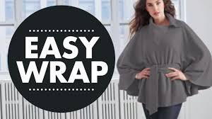 Easy To Make No Sew Wrap Youtube