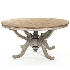 round french country dining table natural wood rustic french country coffee table