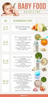 Introducing Solids To Baby Chart When To Start Solids Your Baby Food Guide Baby Food Guide
