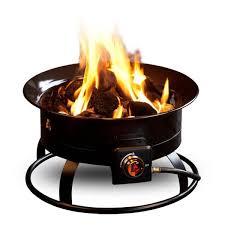 steel portable propane fire pit
