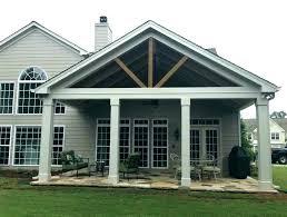 back porch ideas open roof designs screened diy creative backyard por