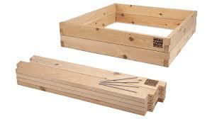 cedar garden box. 4x4x11 Raised Garden Bed Kit Cedar Box