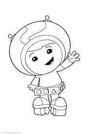Small Picture Geo Big Smile fro Kids in Team Umizoomi Coloring Page Geo Big