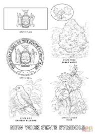 Small Picture New York State Symbols coloring page Free Printable Coloring Pages
