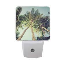 Palm Tree Night Light Night Light Top Large Tropical Palm Tree Sunlightpattern Led