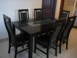 gl dining table 6 seater gallery inside brilliant dining table set