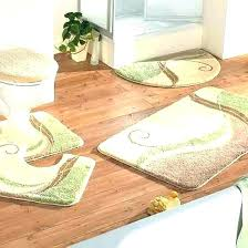 decorative bathroom rugs large
