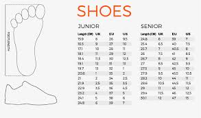 Leg Size Chart For Shoes Size Charts