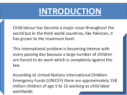 effects of child labour images child labour is a