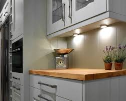 spot lighting for kitchens. under cabinet led spot lights for traditional painted kitchen with wood worktop undercabinet lighting kitchens