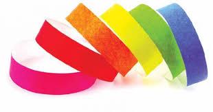 Бумажные браслеты контрольные браслеты tyvek Объявление в  Бумажные браслеты контрольные браслеты tyvek