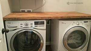diy laundry room countertop for under 40