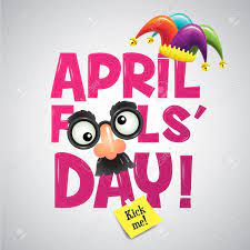 April Fool's Day, Typography, Colorful, Vector Illustration. Royalty Free  Cliparts, Vectors, And Stock Illustration. Image 74156356.