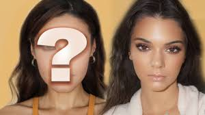 kendall jenner inspired sparkly eyes makeup tutorial