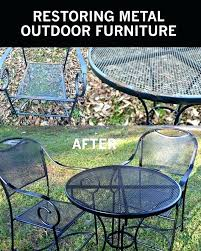 expanded metal patio table expanded metal patio table and chairs best painted outdoor furniture ideas on