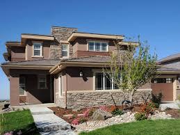 exterior colonial house design. Prairie Architectural Home Exterior Colonial House Design A