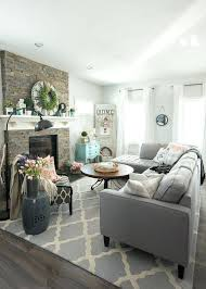 gray walls stone fireplace mesmerizing grey living room decor yellow ideas walls brick stone fireplace white