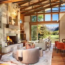 Natural Stone Fireplace Striking Natural Stone Fireplace Design