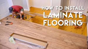 Pictures of laminate flooring Armstrong Installing Laminate Flooring For The First Time Home Renovation Youtube Installing Laminate Flooring For The First Time Home Renovation