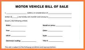 bill of sale 7 free vehicle bill of sale template simple cash bill