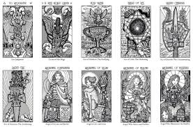 I do not exactly consider tarot cards a game as it is a serious divination tool, however you can use this deck of tarot card to add some fun to your psychic and divination themed party. Free Major Arcana Download Benebell Wen