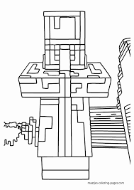 Minecraft Kleurplaat Fantastisch Mine Craft Coloring Pages Ender