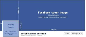 best picture size for facebook facebook cover dimensions social business sheffield