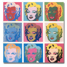 2017 promotion rushed cuadros andy warhol marilyn monroe wall art painting prints on canvas no frame
