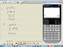 technology in college algebra systems of non linear equations hp prime you