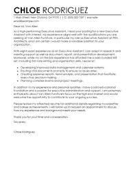 Sample Cover Letter For Executive Secretary Job Adriangatton Com