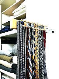 tie organizer rack closet ideas organizers best organize ties images on storage ho diy box