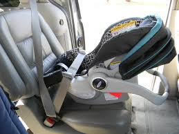 install graco car seat without base
