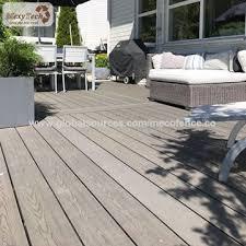 china balcony waterproof outdoor floor covering composite wpc decking