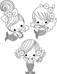 Cute Baby Mermaid Coloring Pages 2 By James Coloring Baby