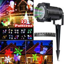 Christmas Projector Lights Ebay Christmas Projector Light Led Laser Landscape Decor Lamp