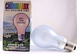 Chromalux Light Bulbs Chromalux Light Bulb 150 Watt 1 Unit