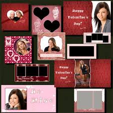 8 X 10 Heart Template Valentine Photoshop Photo Template Collection For Photoshop