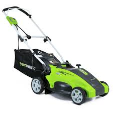 the green works greenworks 25142 10 amp corded 16 inch lawn mower review